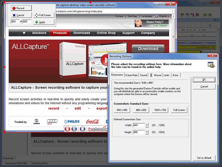 ALLCapture – 实时捕捉桌面画面丨反斗限免